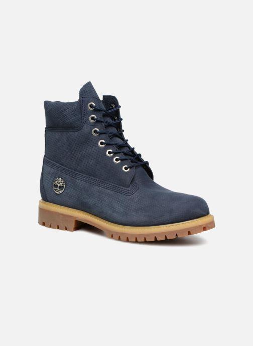 """Bottines et boots Timberland 6"""" Premium Boot Bleu vue détail/paire"""