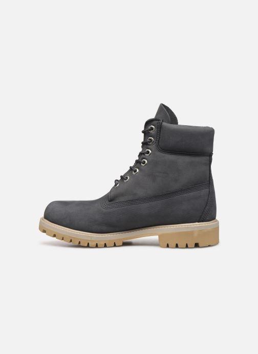 "Bottines et boots Timberland 6"" Premium Boot Gris vue face"