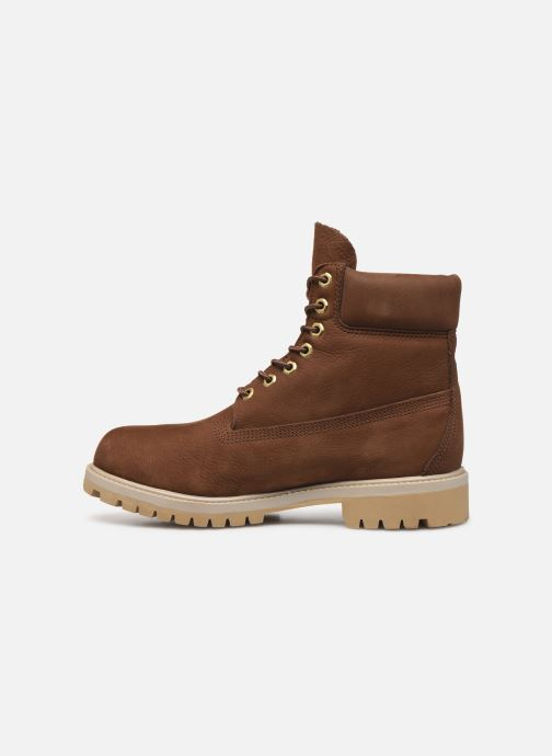 "Botines  Timberland 6"" Premium Boot Marrón vista de frente"