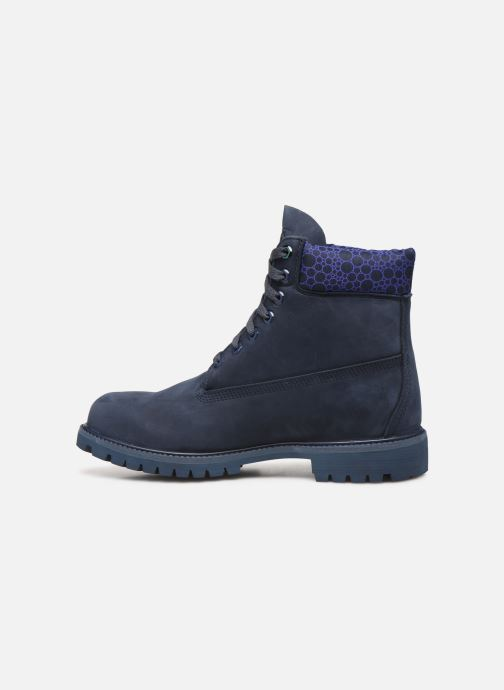 "Ankle boots Timberland 6"" Premium Boot Blue front view"
