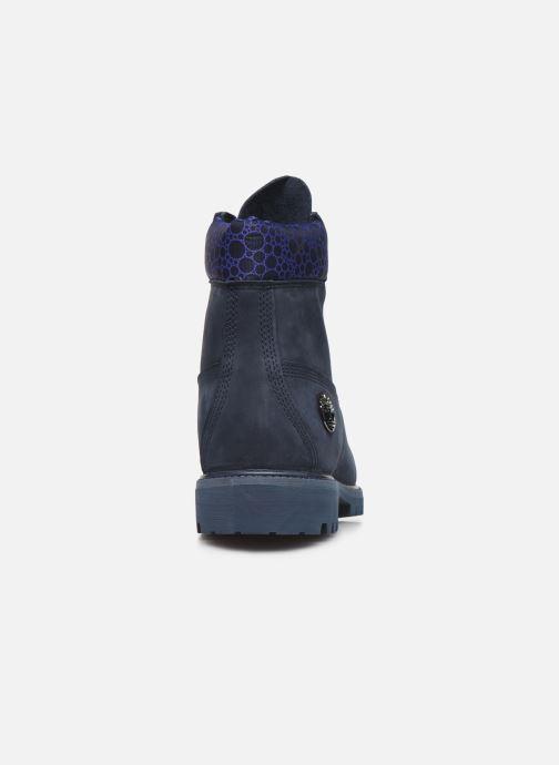 "Bottines et boots Timberland 6"" Premium Boot Bleu vue droite"