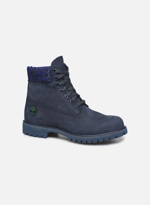 "Ankle boots Timberland 6"" Premium Boot Blue detailed view/ Pair view"