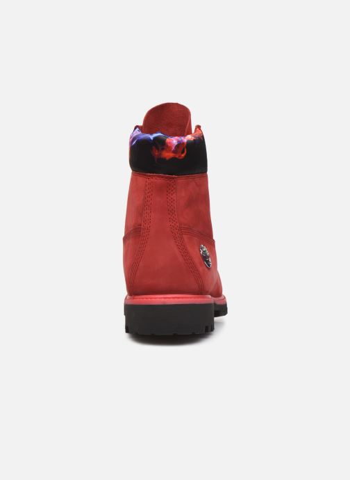 "Bottines et boots Timberland 6"" Premium Boot Rouge vue droite"