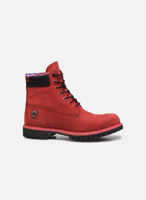 """Ankle boots Timberland 6"""" Premium Boot Red back view"""