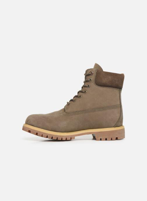 """Boots en enkellaarsjes Timberland 6"""" Premium Boot Grijs voorkant"""