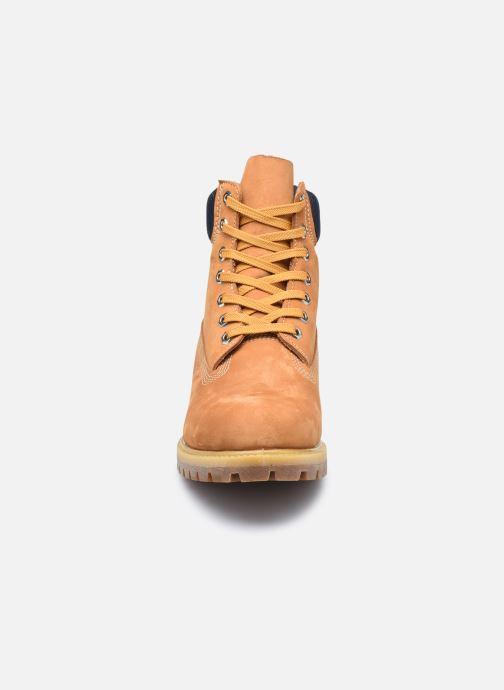 """Bottines et boots Timberland 6"""" Premium Boot Marron vue portées chaussures"""