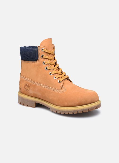 """Bottines et boots Timberland 6"""" Premium Boot Marron vue détail/paire"""