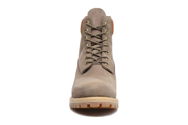 """Stiefeletten & Boots Timberland 6"""" Premium Boot grau schuhe getragen"""