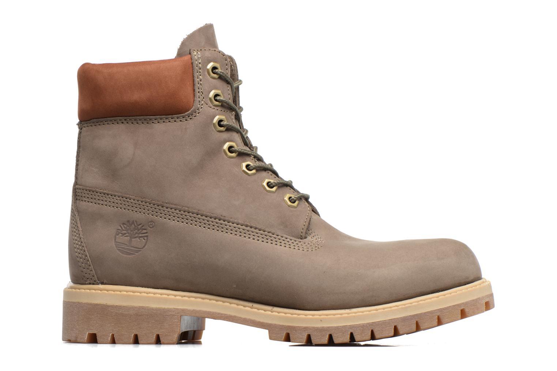 """Stiefeletten & Boots Timberland 6"""" Premium Boot grau ansicht von hinten"""
