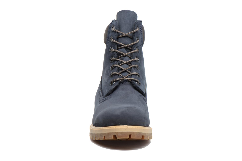 """Bottines et boots Timberland 6"""" Premium Boot Gris vue portées chaussures"""