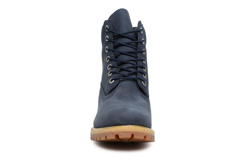 "Stiefeletten & Boots Timberland 6"" Premium Boot blau schuhe getragen"