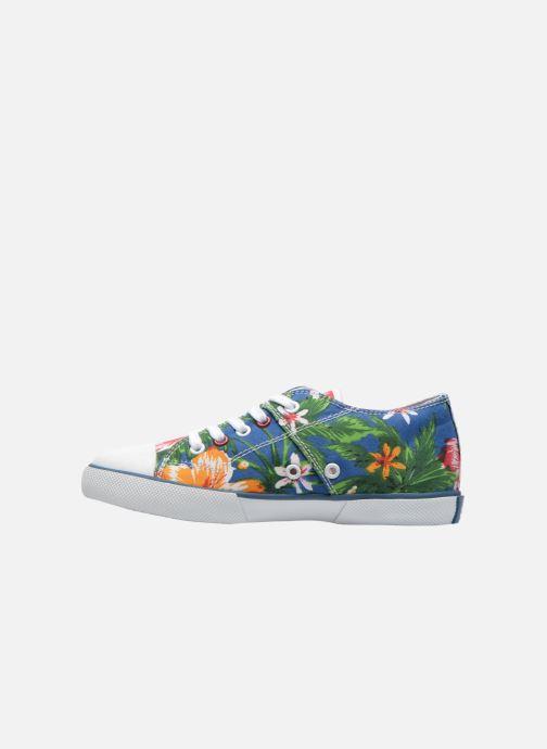 Sneaker Little Mary Little Tennis Flower blau ansicht von vorne