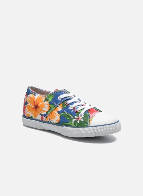 Trainers Little Mary Little Tennis Flower Blue detailed view/ Pair view