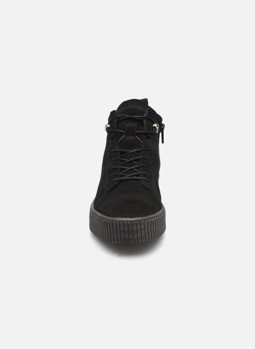 Baskets Tamaris Elsa Noir vue portées chaussures