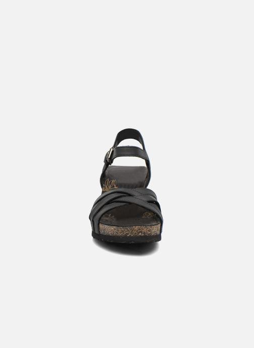 Sandales et nu-pieds Panama Jack Vera Noir vue portées chaussures