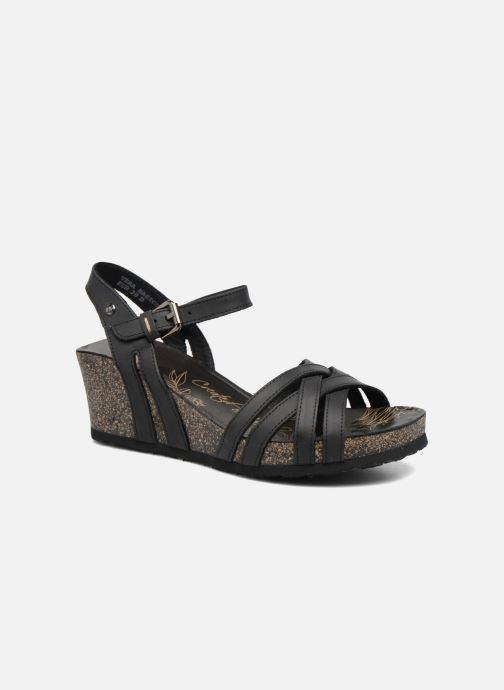 Sandaler Panama Jack Vera Sort detaljeret billede af skoene