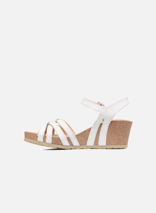 Sandales et nu-pieds Panama Jack Vera Blanc vue face