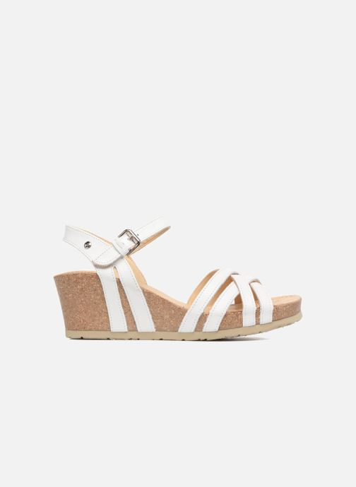 Sandales et nu-pieds Panama Jack Vera Blanc vue derrière