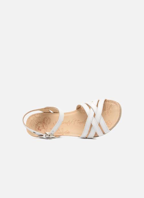 Sandales et nu-pieds Panama Jack Vera Blanc vue gauche
