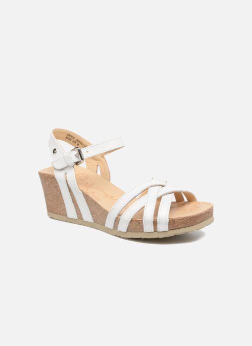 Sandales et nu-pieds Panama Jack Vera Blanc vue détail/paire
