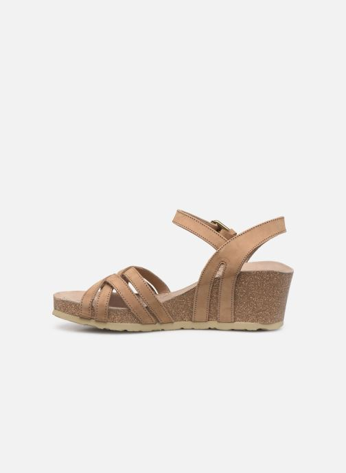 Sandales et nu-pieds Panama Jack Vera Beige vue face