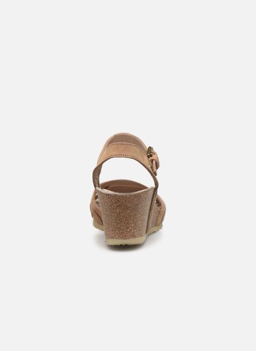 Sandales et nu-pieds Panama Jack Vera Beige vue droite
