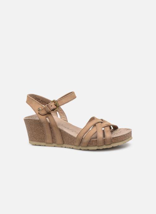 Sandales et nu-pieds Panama Jack Vera Beige vue derrière