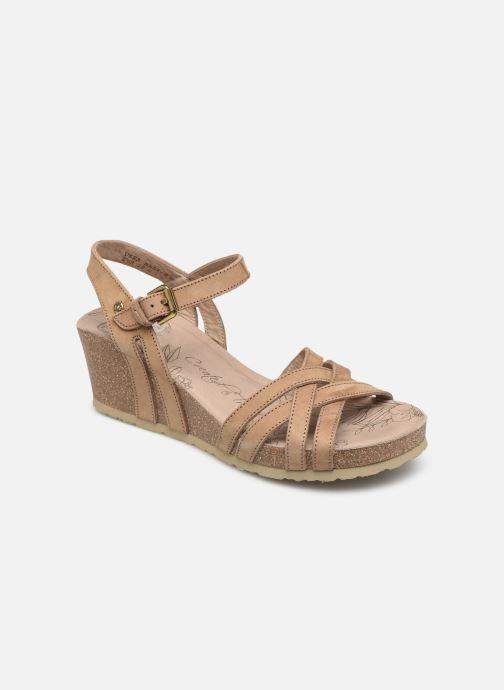 Sandales et nu-pieds Panama Jack Vera Beige vue détail/paire