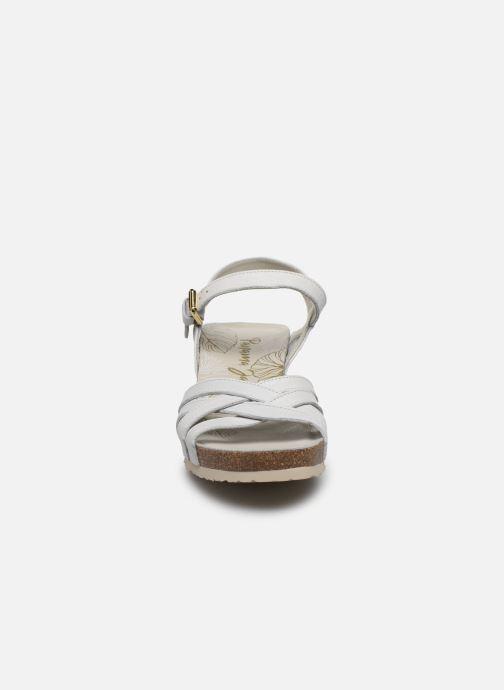 Sandalen Panama Jack Vera weiß schuhe getragen