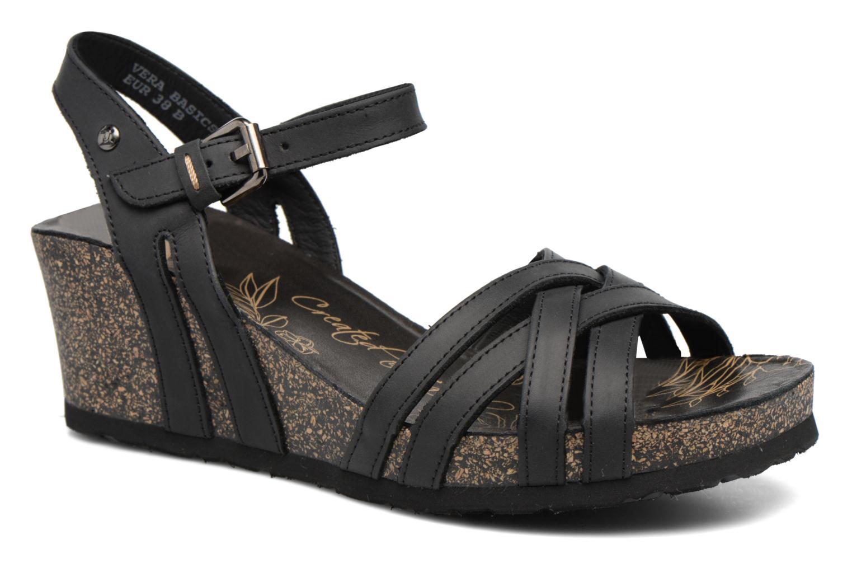 Sandales et nu-pieds Panama Jack Vera Noir vue détail/paire