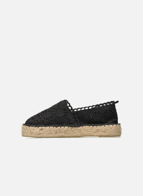 Espadrilles Colors of California Lara 2 Noir vue face