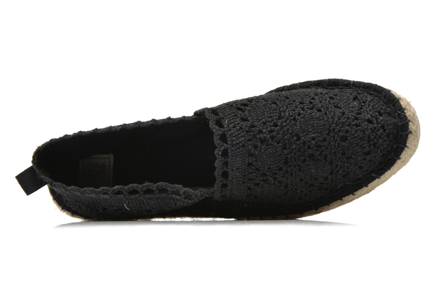 Espadrilles Colors of California Lara 2 Black view from the left