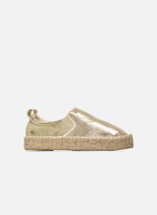 Espadrilles Colors of California Vicky Bronze and Gold back view