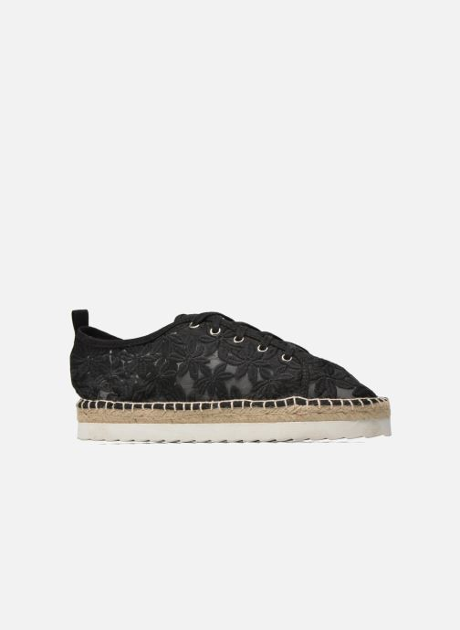 Espadrilles Colors of California Poshpadrille lacet Black back view