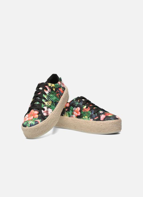 Baskets Colors of California Sneakers Double Sole Multicolore vue 3/4