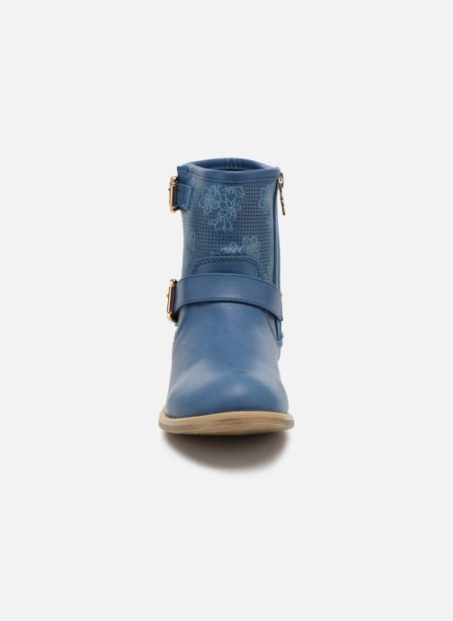 Stiefeletten & Boots Xti Randy 45017 blau schuhe getragen