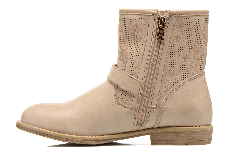 Stiefeletten & Boots Xti Randy 45017 beige ansicht von vorne