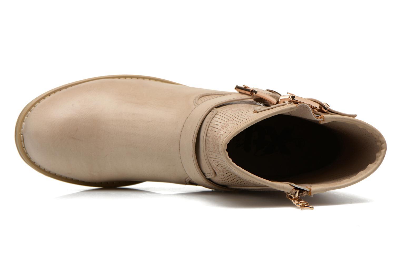 Stiefeletten & Boots Xti Randy 45017 beige ansicht von links