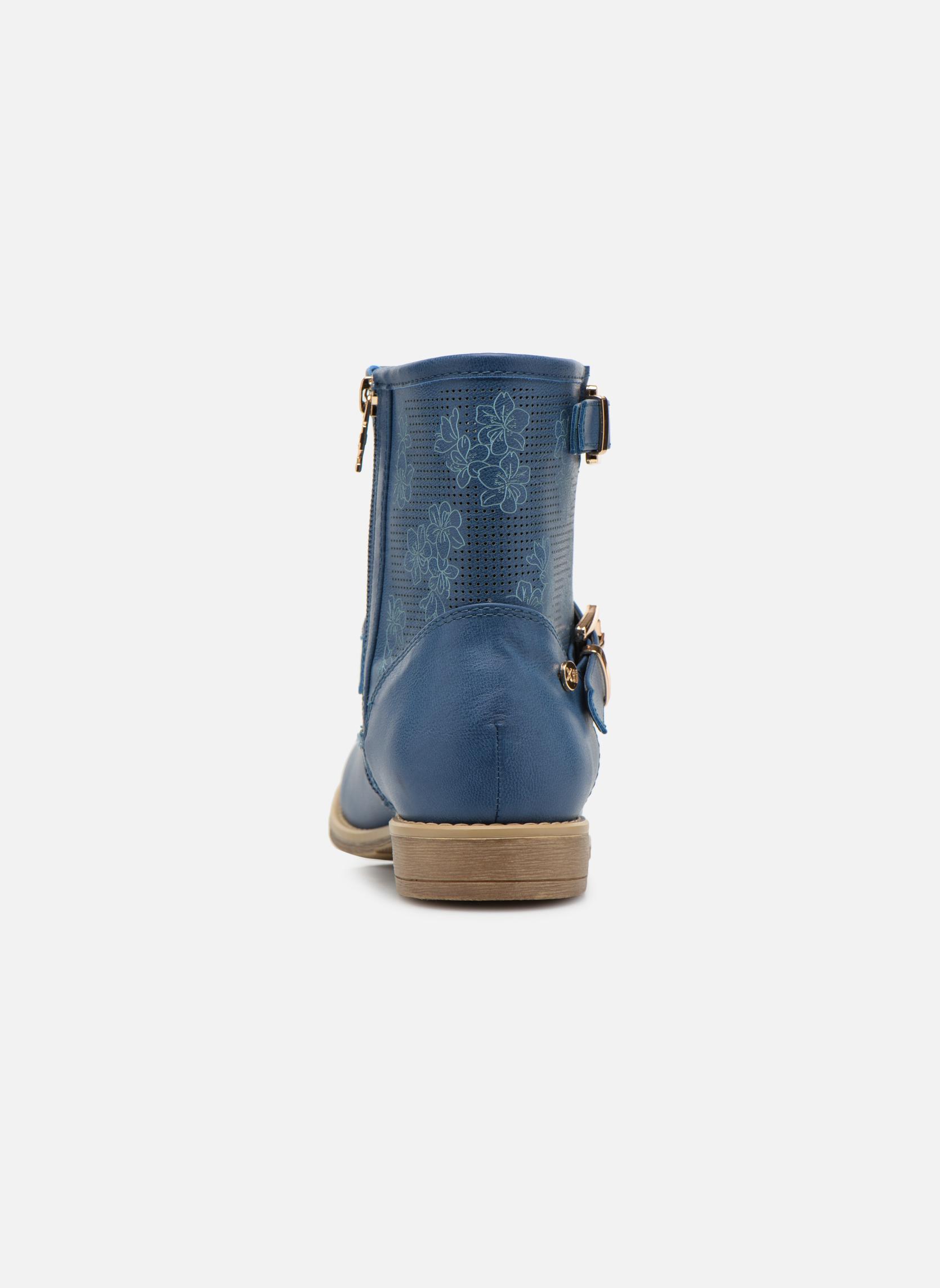 Bottines et boots Xti Randy 45017 Bleu vue droite
