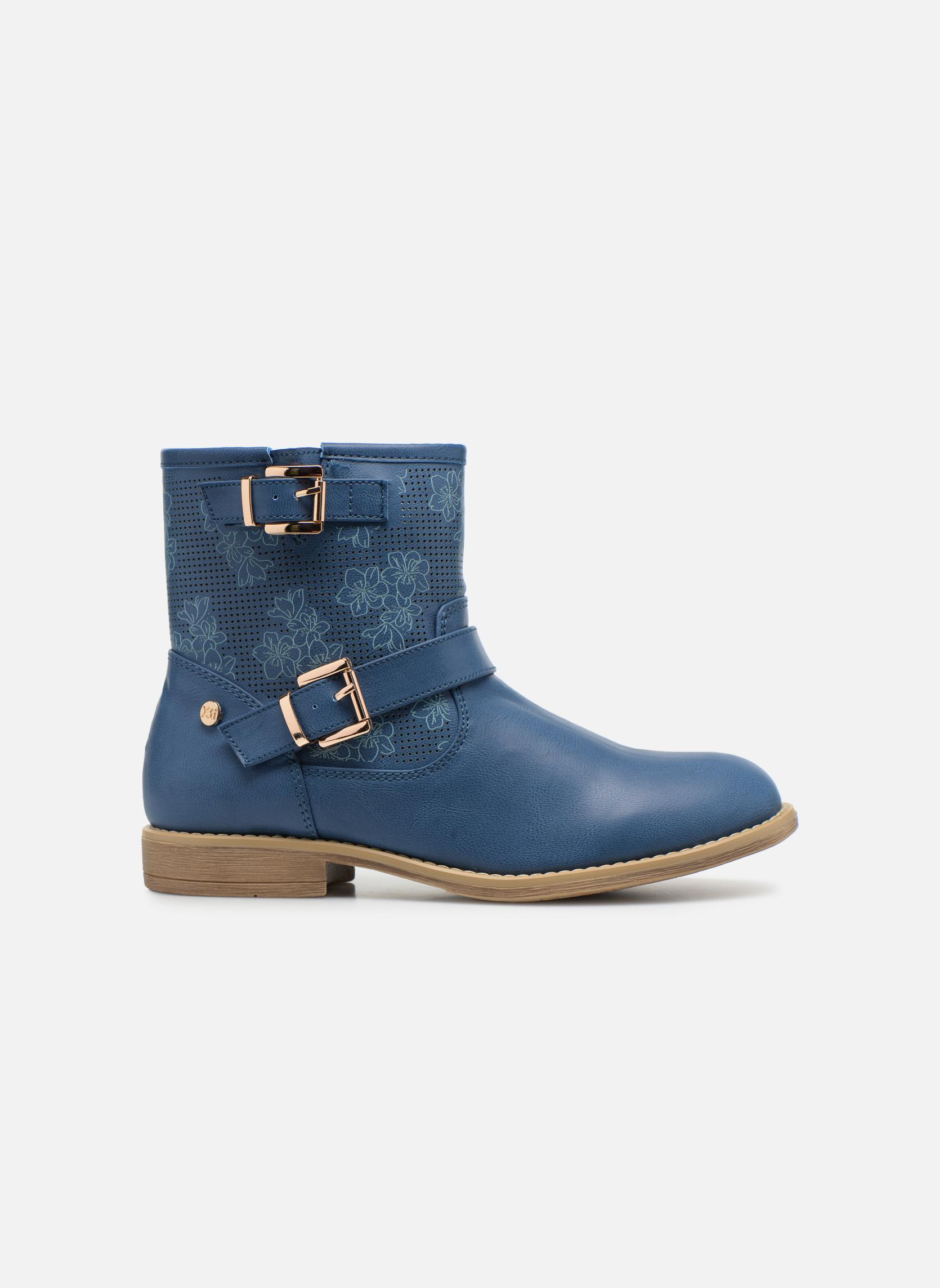 Bottines et boots Xti Randy 45017 Bleu vue derrière