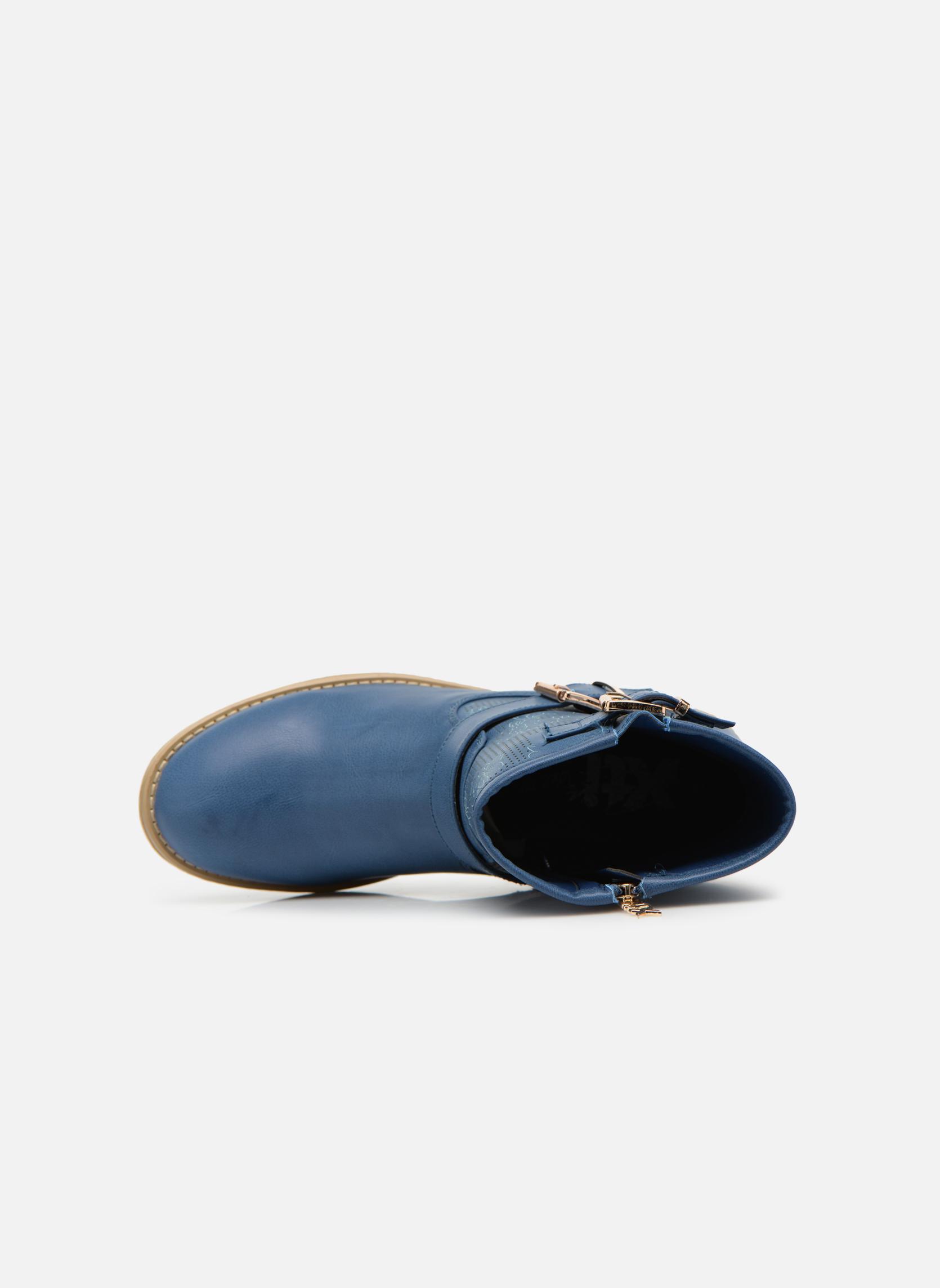Bottines et boots Xti Randy 45017 Bleu vue gauche