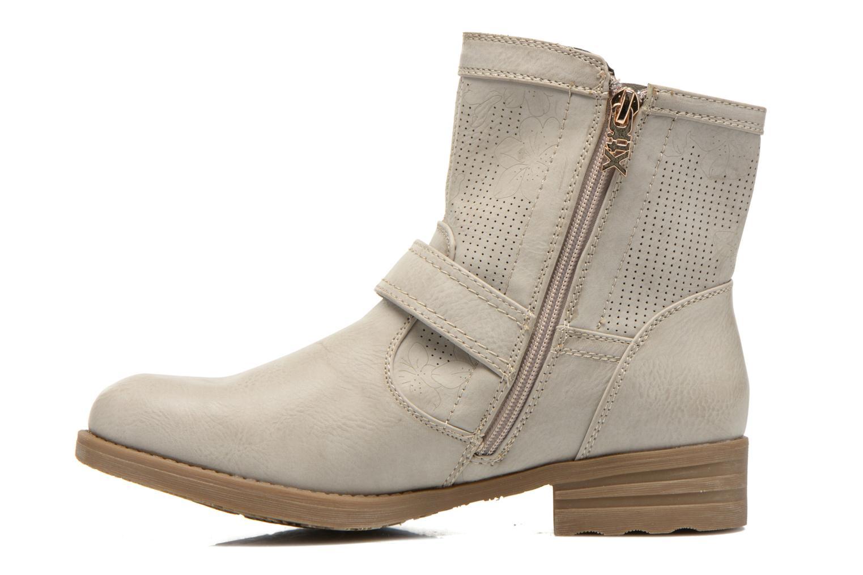 Bottines et boots Xti Billie 45812 Gris vue face