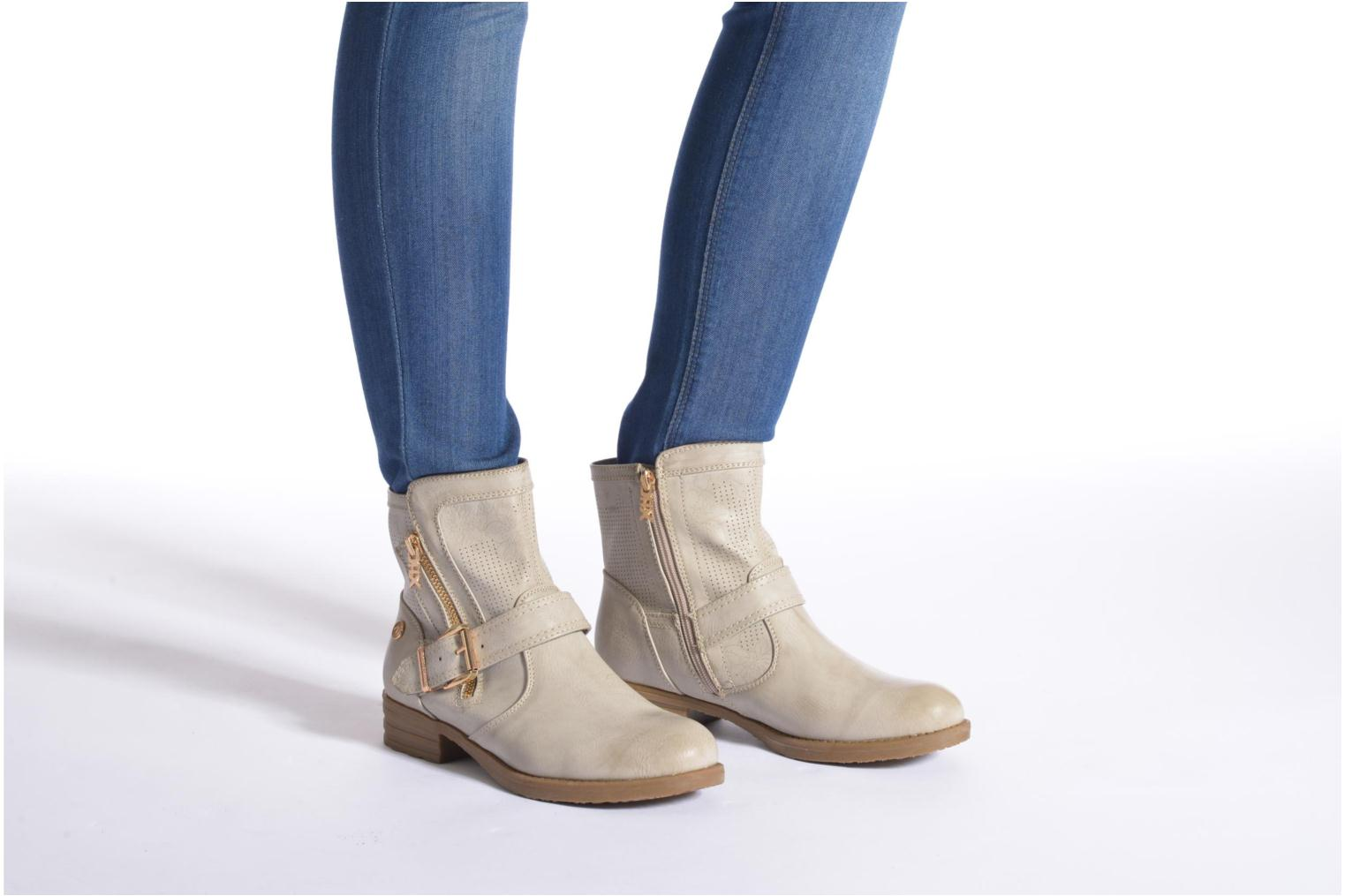 Ankle boots Xti Billie 45812 Brown view from underneath / model view