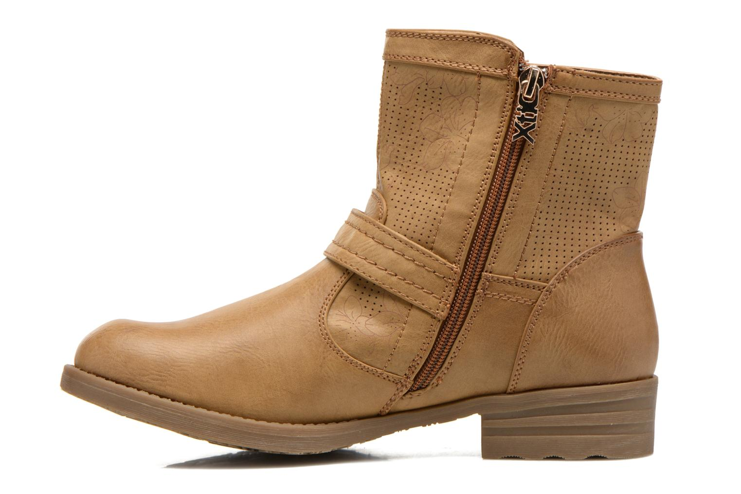Ankle boots Xti Billie 45812 Brown front view
