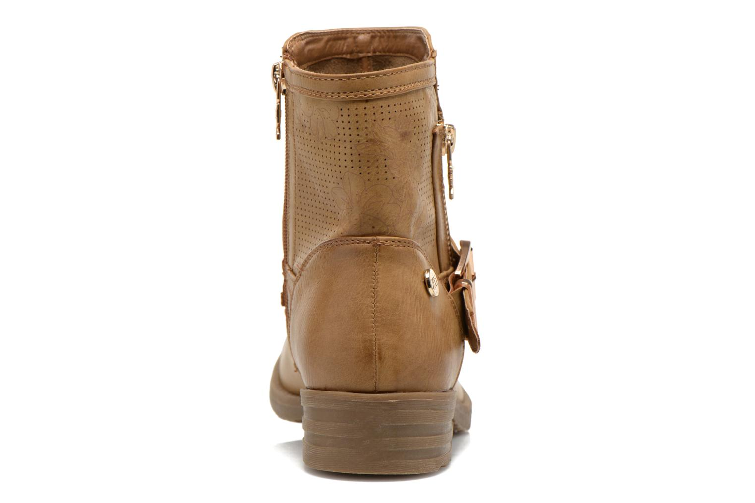Ankle boots Xti Billie 45812 Brown view from the right