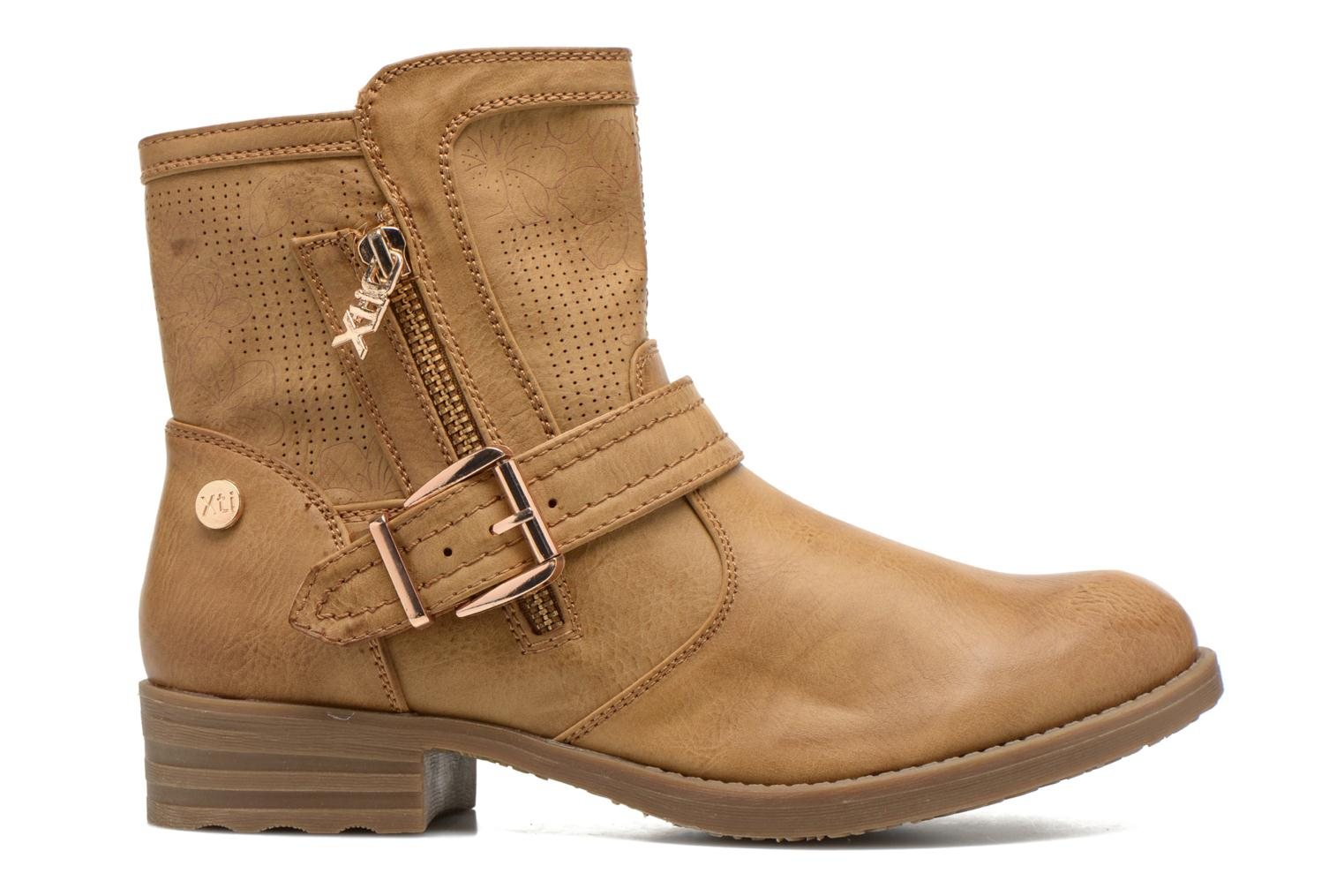 Ankle boots Xti Billie 45812 Brown back view