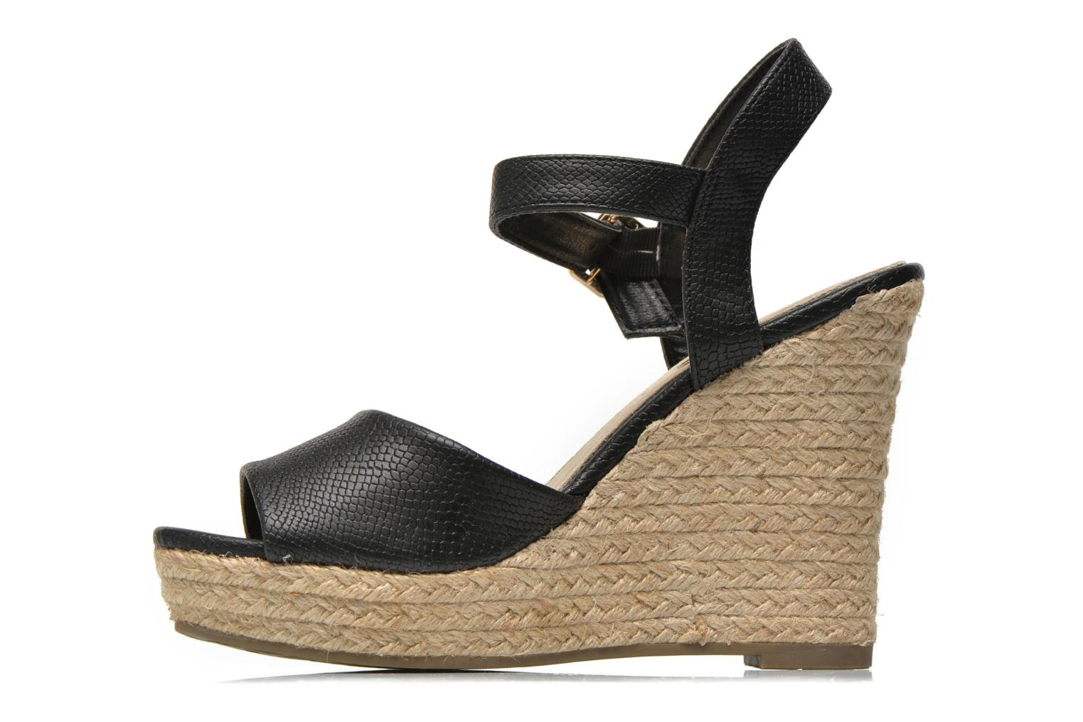 Sandals Xti Hobby 45855 Black front view