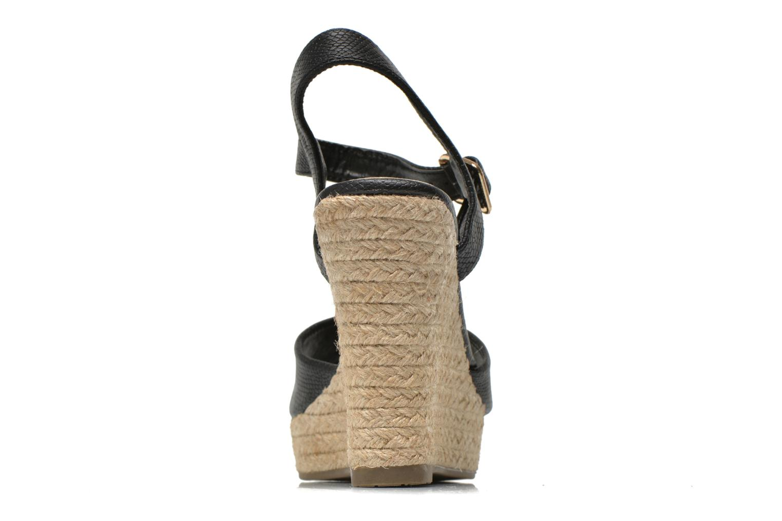 Sandals Xti Hobby 45855 Black view from the right