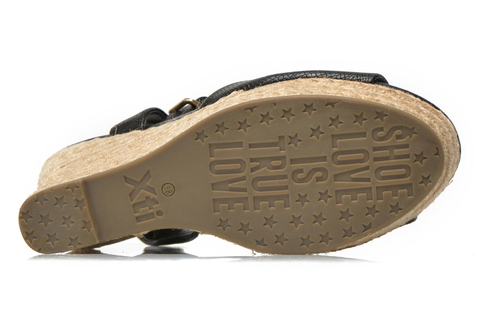 Sandals Xti Hobby 45855 Black view from above