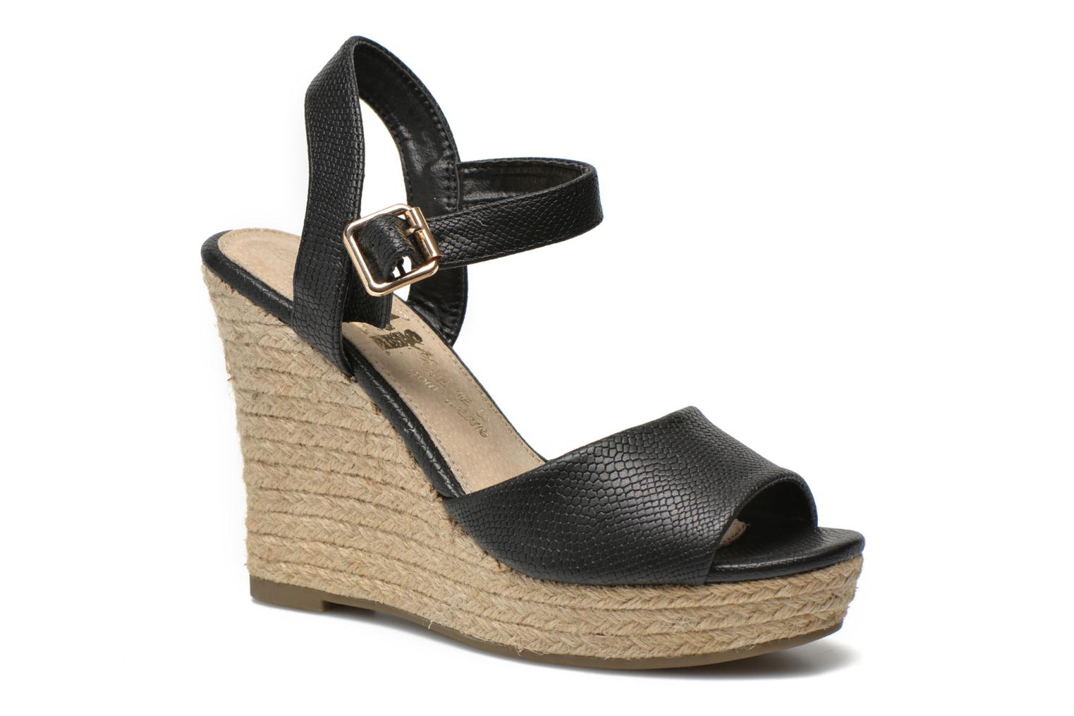 Sandals Xti Hobby 45855 Black detailed view/ Pair view